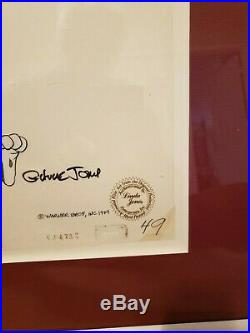 1979 Chuck Jones Original Bugs Bunny Animation Cel Signed No. JC-47A6 (1 of 1)