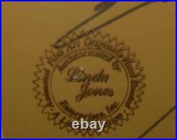 1986 Chuck Jones Last Chance Saloon Framed Cel Artwork Hand signed 28/200