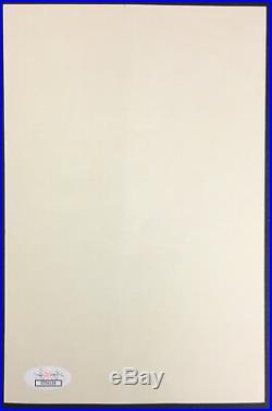 1987 Chuck Jones Signed Bugs Bunny Print Cartoon + Letter Authenticated JSA