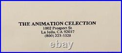 1992 Chuck Jones Signed Le Hand Painted Cel Piano Poker Elmer Fudd Daffy Duck
