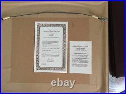 APPLAUSE Hand Signed Chuck Jones Ltd. Ed cel Looney Tunes Bugs Bunny & Daffy