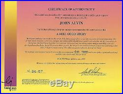 A Reel Good Story JOHN ALVIN AUTOGRAPHED