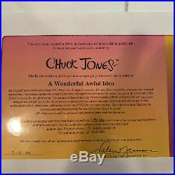 A Wonderfully Awful Idea The Grinch Giclee Signed Chuck Jones