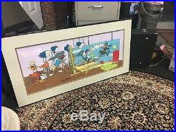 BIRTH OF A NOTION FRAMED SIGNED CHUCK JONES RARE WB Bugs Bunny warner brothers