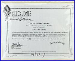 BUGS BUNNY Limited Edition CHUCK JONES Signed Cel Art Cell Looney Tunes