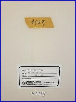 BUGS BUNNY/ROAD RUNNER MOVIE 1979 Original Art Production Cel Signed Chuck Jones