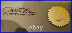 BUGS BUNNY & WITCH HAZEL TRUANT OFFICER Signed Chuck Jones Looney Tunes