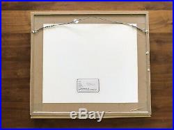 Bugs Bunny Animation Production Cel Signed by Chuck Jones