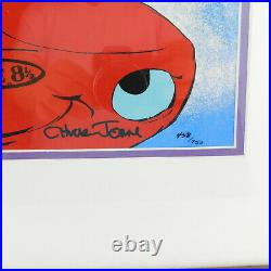 Bugs Bunny & Bride CHUCK JONES Limited Edition Signed Cel Art Just Married