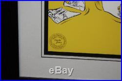 Bugs Bunny- Bugs Director-Chuck Amuk- Limited Edition Cel Signed By Chuck Jones