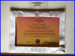 Bugs Bunny Cel Marvin Martian Peace and Carrots Signed Chuck Jones 1994