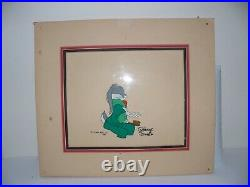 Bugs Bunny Cel Robe Brush Rare Warner Brothers Chuck Jones Signed Cell