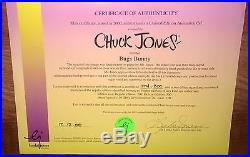 Bugs Bunny Cel Super Bugs Signed Chuck Jones Warner Brothers Animation Cell