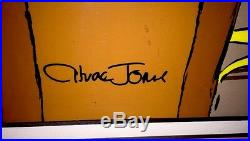 Bugs Bunny Cel Warner Brothers Daffy Duck The Showdown Signed Chuck Jones Cell