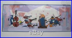 Bugs Bunny Cel Warner Brothers Quintet Daffy Duck Signed Chuck Jones Cell Rare
