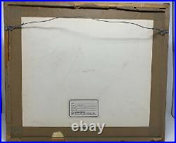 Bugs Bunny Cell Warner Brothers Chuck Jones Signed Hassan Chop Rare Edition