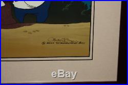 Bugs Bunny- High Strung- Limited Edition Cel Signed by Chuck Jones