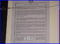 Bugs Bunny/Roadrunner Movie 1 of 1 Cel+Drawing Framed +COA signed by Chuck Jones
