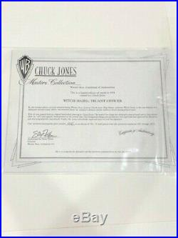 Bugs Bunny and Witch Hazel Truant Officer Limited Edition Signed By Chuck Jones