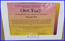 Bugs and Bull Warner Brothers Ltd Edition 2000 Signed by Chuck Jones 47/375