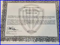 CHARIOTS OF FUR Chuck Jones signed Wile E. Coyote ORIGINAL PRODUCTION Cel