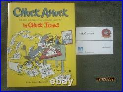 CHUCK AMUCK, Chuck Jones (signed 1989 HB 1st, fine withmajor studio exec's card)