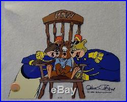 CHUCK JONES BEAR FOR PUNISHMENT ANIMATION CEL SIGNED #179/500 WithCOA