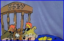 CHUCK JONES BEAR FOR PUNISHMENT ANIMATION CEL SIGNED #229/500 WithCOA