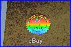 CHUCK JONES BUGS AND GULLI-BULL ANIMATION CEL SIGNED #288/750 WithCOA PROF FRAMED