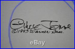 CHUCK JONES CEL BUGS AND WITCH HAZEL TRUANT OFFICER CEL SIGNED/#659/750 WithCOA