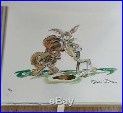CHUCK JONES Collection of 10 TEN Signed Numbered Giclee Prints THE CLASSICS CoA