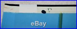 CHUCK JONES DAFFY DUCK ORIGINAL PRODUCTION CEL SIGNED & WithJONES ENT SEAL