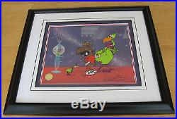 CHUCK JONES INSTANT MARTIANS Signed MARVIN THE MARTIAN CEL with COA MINT