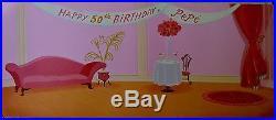 CHUCK JONES PEPE LEPEW 50TH BIRTHDAY ANIMATION CEL SIGNED #361/400 WithCOA