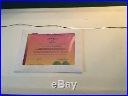 CHUCK JONES SAY AH! Bugs Bunny Limited Edition SIGNED DOUBLE CEL 82/750 RARE