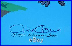CHUCK JONES SUSPENDED ANIMATION ANIMATED CEL SIGNED #524/750 WithCOA