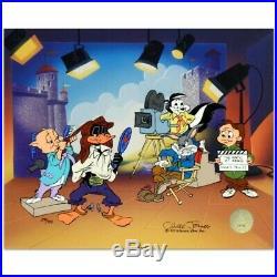 CHUCK JONES Signed Animation Cel MARK OF ZERO Bugs Bunny. Certificate included