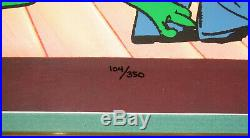 CHUCK JONES'WILD ABOUT HARRY Michigan J. Frog CEL Signed withCOA RARE 104/350