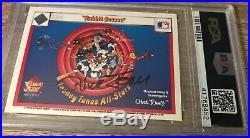 CHUCK JONES signed 1990 Upper Deck LOONEY TUNES card auto AUTOGRAPH PSA DNA rare