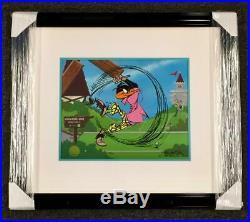 CHUCK JONES signed Daffy Duck PAR NONE Animation Cel LE # /240 WARNER BROS COA