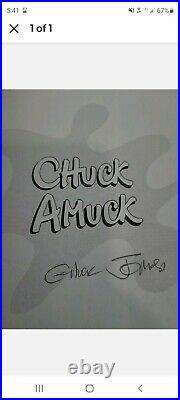 Chuck Amuck Signed The Life and Times of an Animated Cartoonist 1st Edition
