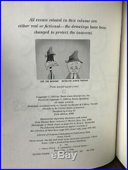 Chuck Amuck by Chuck Jones Signed First Edition