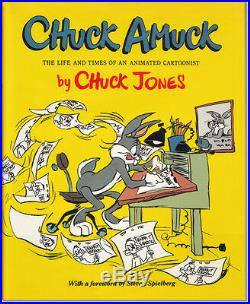 Chuck Amuck by Chuck Jones Signed by Maurice Noble Warner's Art Director