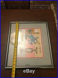 Chuck Jones Animation Art Limited Edition Cel The Lawyer Signed