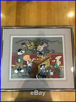 Chuck Jones Animation Art Limited Edition Cel Wed Wivver Vahwee Signed