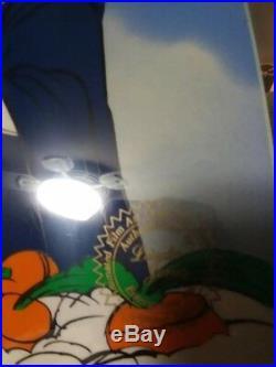Chuck Jones Autograph signed looney toons Cel marriage in heaven 138/500
