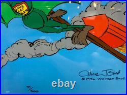 Chuck Jones (B. 1912) Acme Splatman Signed Sericel