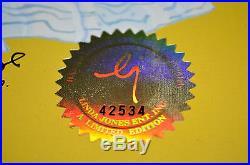Chuck Jones Bow And Error Signed Animated Cel #202/500 Coa Daffy Duck/porky Pig
