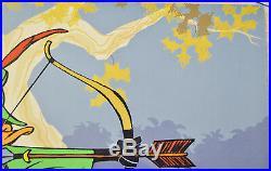 Chuck Jones Bow And Error Signed Animated Cel #204/500 Coa Daffy Duck/porky Pig