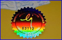 Chuck Jones Bow And Error Signed Animated Cel #438/500 Coa Daffy Duck/porky Pig